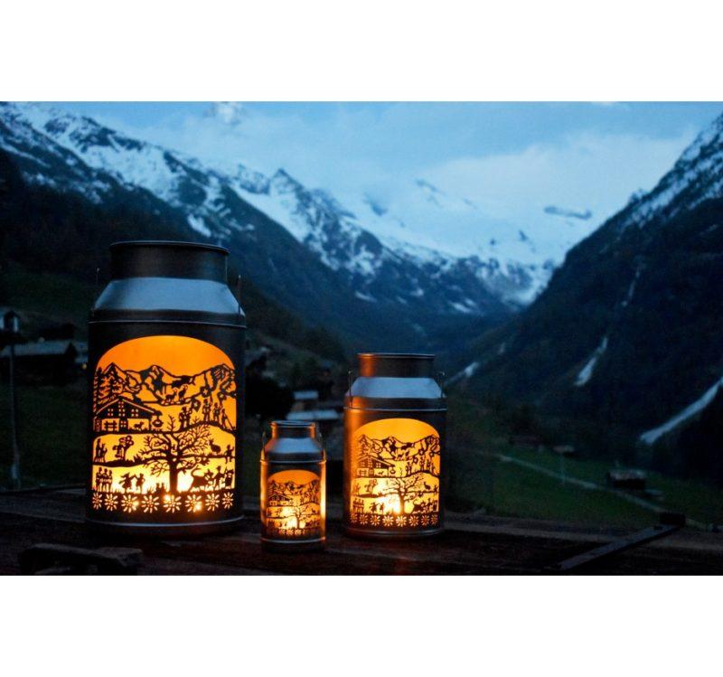 Trois lanternes boilles tradition allumées Trois lanterne boilles tradition allumées lifestyle | Meli Melo boutique cadeau artisanat et décoration