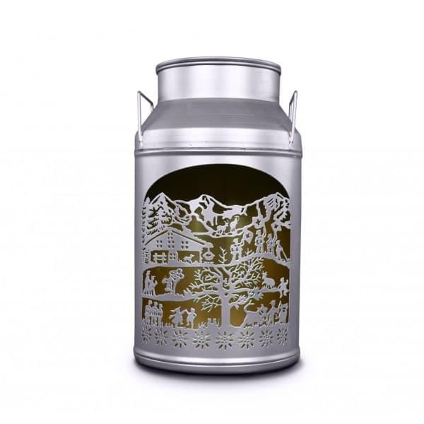 Lanterne boille a lait decoupage tradition | Grande | Meli Melo