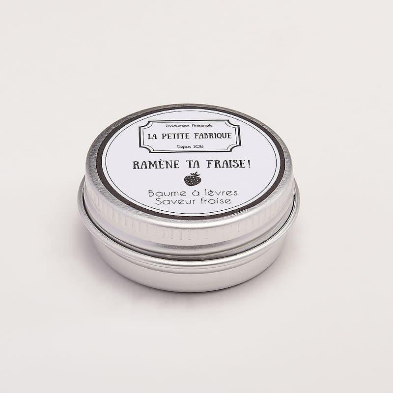 Baume à lèvres | Ramène ta fraise | parfum fraise | Meli Melo