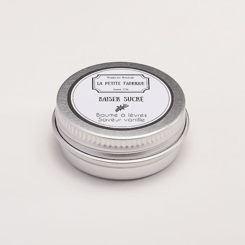 Baume à lèvres | Baiser sucré | parfum vanille | Meli Melo