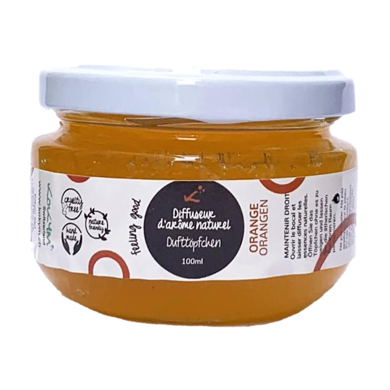 Bocal aromatique   Orange   Kokym   Boutique Meli Melo
