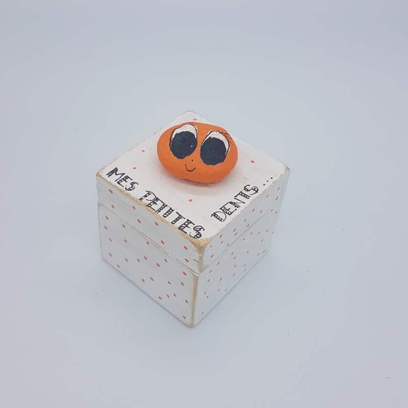 Boîte à dents   Orange   Boutique Meli Melo