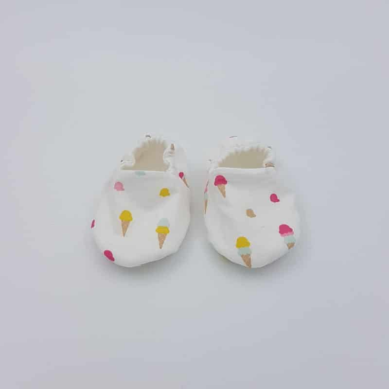 Chaussons   0-3 M   Glace   Créations Baby   Boutique Meli Melo