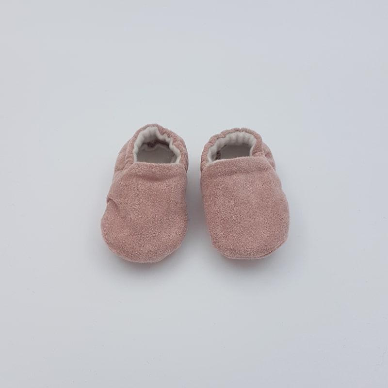 Chaussons   0-3 M   Mauve   Créations Baby   Boutique Meli Melo