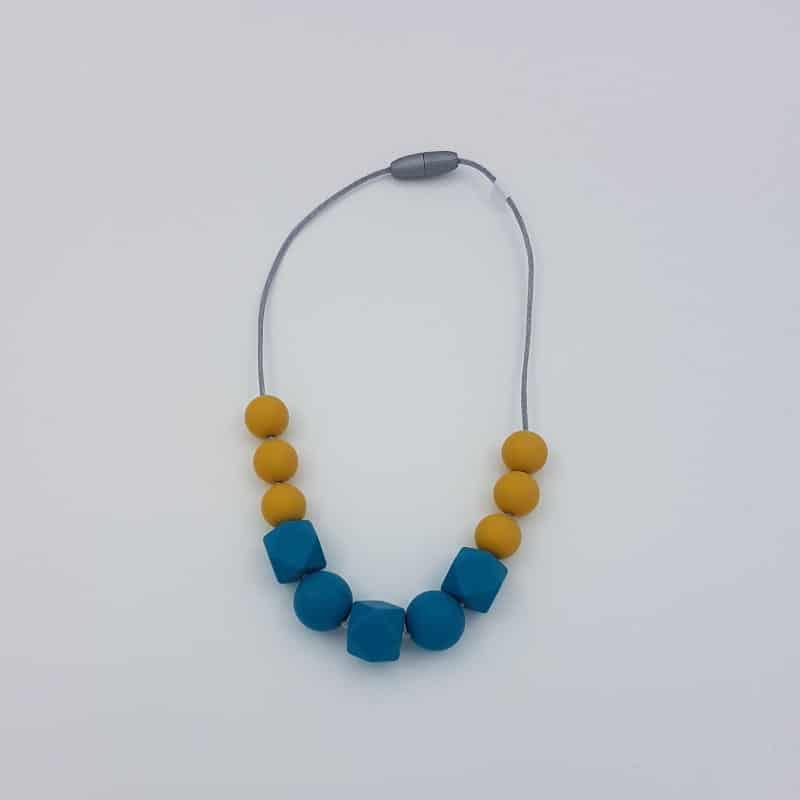 Collier de portage | Court | Moutarde | Natelier Couture | Boutique Meli Melo