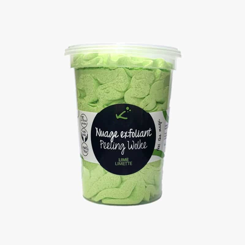 Nuage exfoliant | Lime | Kokym | Boutique Meli Melo