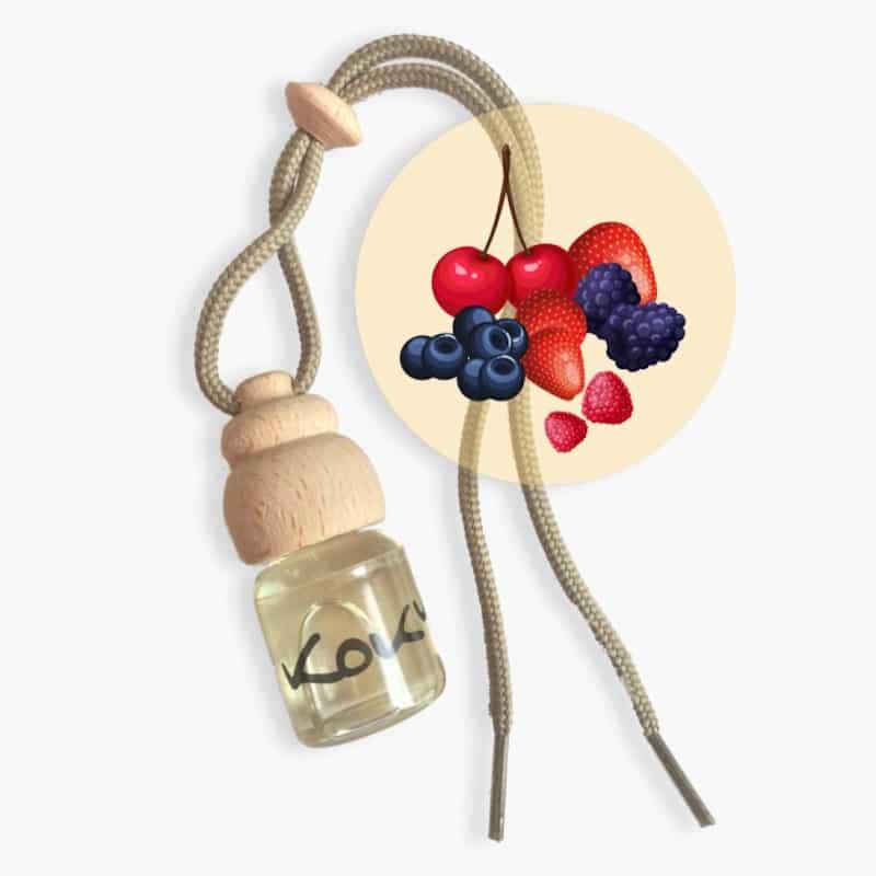 Parfum voiture | Fruits rouges | Kokym | Boutique Meli Melo