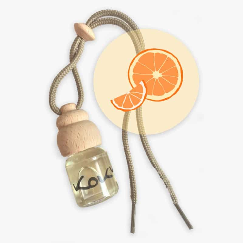 Parfum voiture | Orange | Kokym | Boutique Meli Melo