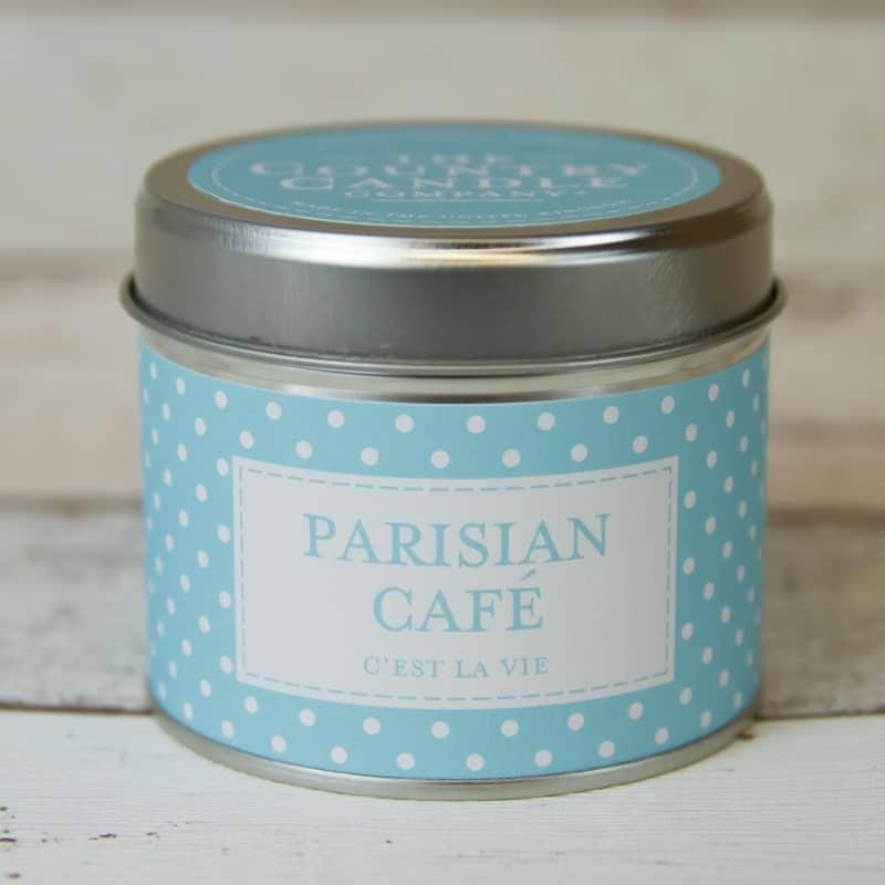 Bougie alu | Parfum café Parisien | Meli Melo