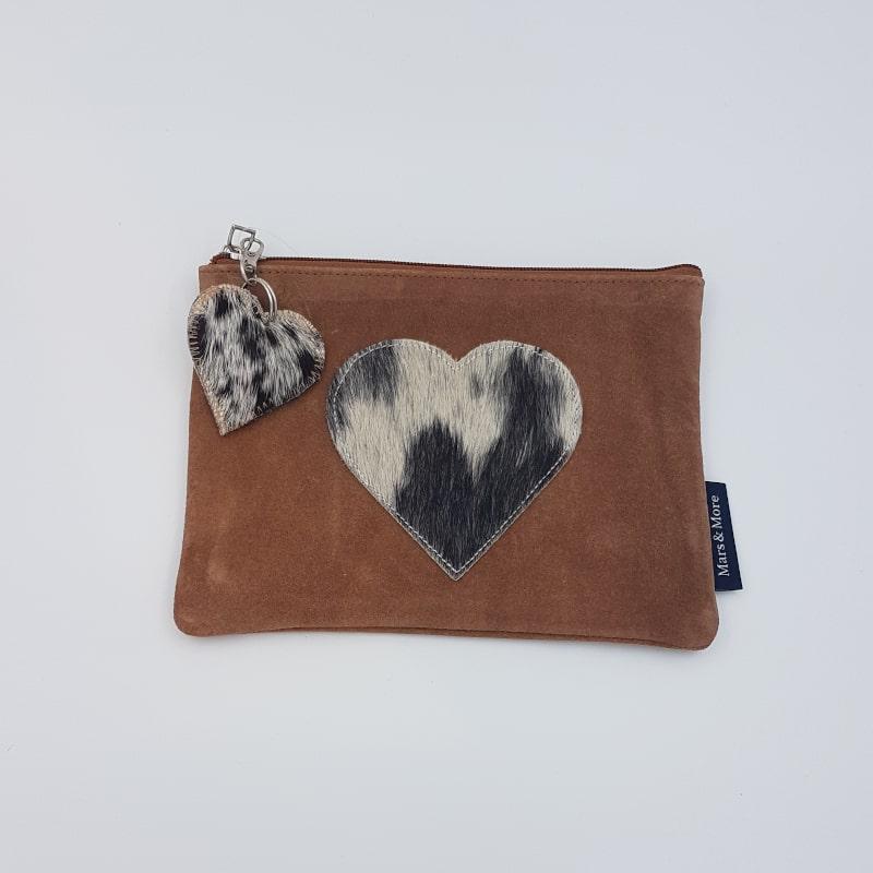Pochette | Coeur-noir | Boutique Meli Melo