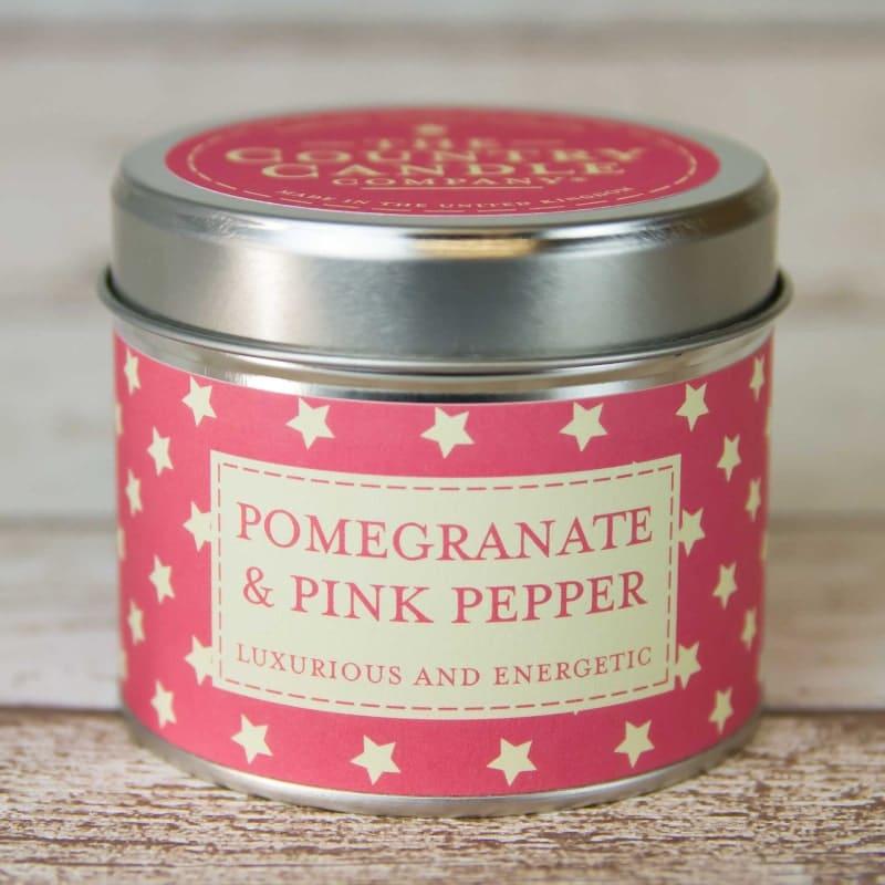 Bougie alu | Parfum grenade et poivre rose | Meli Melo