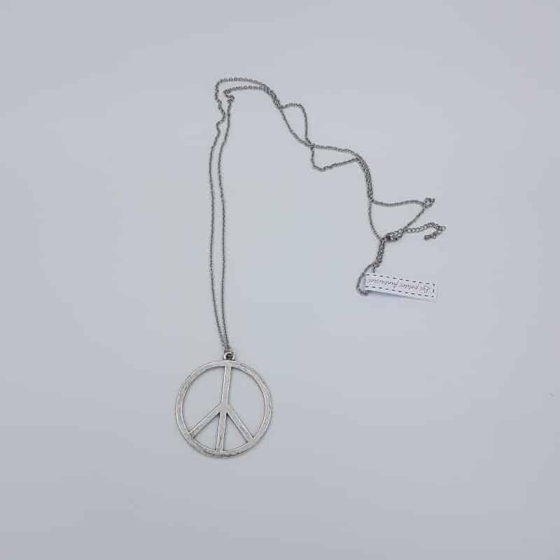 Sautoir | Peace | Les petites fantaisies de Nathalie | Boutique Meli Melo
