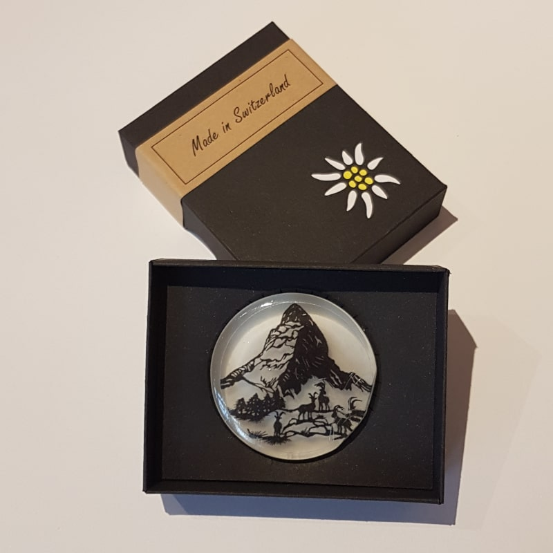 Savon décoratif Zermatt avec sa boîte   Meli Melo