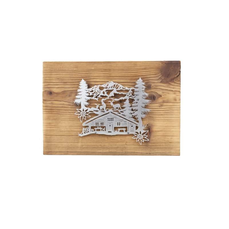 Tableau découpage | l'Alpage | Meli Melo boutique cadeau, artisanat et décoration