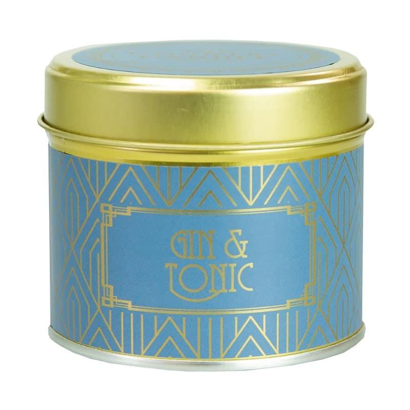 Bougie alu | Parfum Gin & Tonic | Boutique Meli Melo
