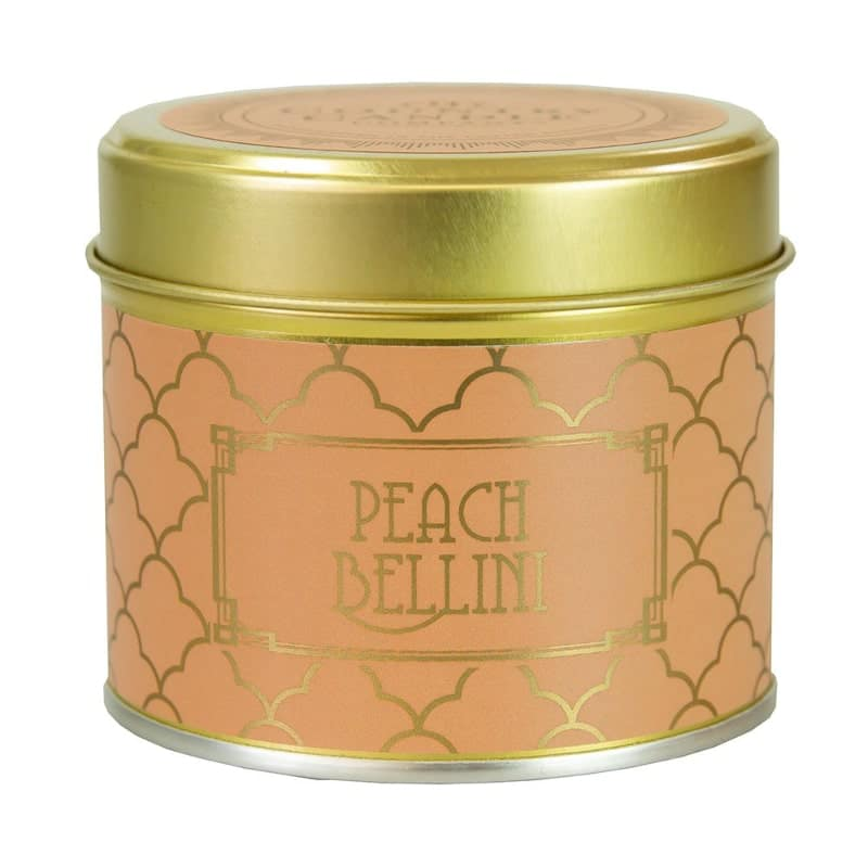 Bougie alu | Parfum Peach Bellini | Boutique Meli Melo